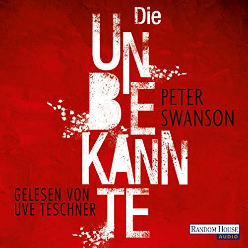 Die Unbekannte audiobook cover art