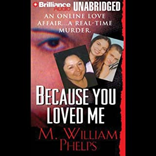 Because You Loved Me                   By:                                                                                                                                 M. William Phelps                               Narrated by:                                                                                                                                 J. Charles                      Length: 10 hrs and 46 mins     55 ratings     Overall 3.8