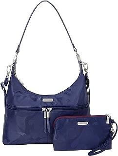 Baggallini Handbag, Navy Jacquard