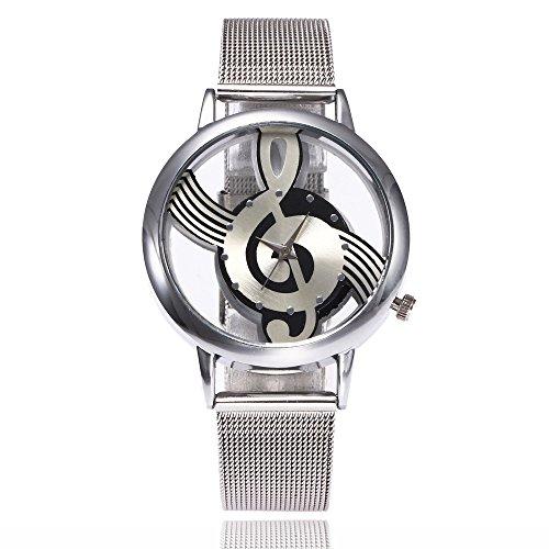 Förderung! Mode Armbanduhr, Analog Quarz Uhr, LEEDY Frauen Fashion Elegant Hinweis Uhr mit Mesh Edelstahl Sport Damenuhr Geschenk