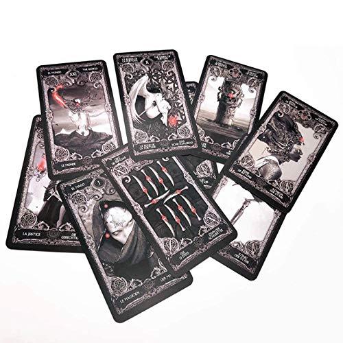 LHJY Tarotkarten Dark XIII Tarot Brettspiel Deutsch Für Den Persönlichen Gebrauch...