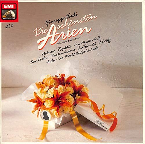Verdi: Die schönsten Arien, deutsch gesungen Vol. 2; Nabucco, Rigoletto, Ein Maskenball, Don Carlos, La Traviata, Aida, u.a. - EX2907523 - Vinyl Box