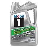 Mobil 1 Advanced Fuel Economy Full Synthetic Motor Oil 0W-30, 5QT