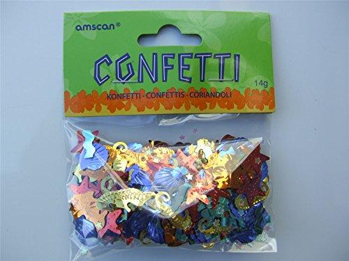 amscan International Confettis Luau-Sea Vie Hawaïen