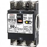 テンパール 単3中性線欠相保護付漏電遮断器 OC付 U6301EC6030V