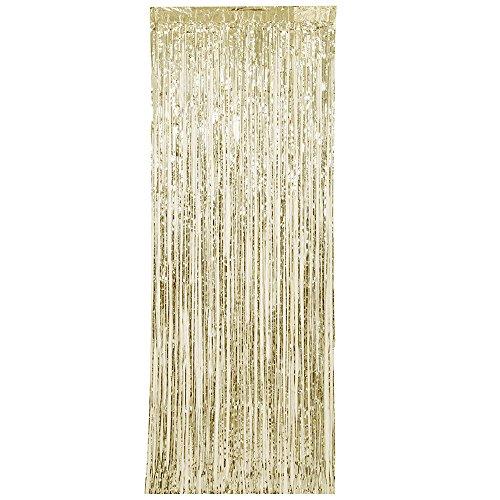 Unieke partij 61927 - Folie gouden rand deur gordijn