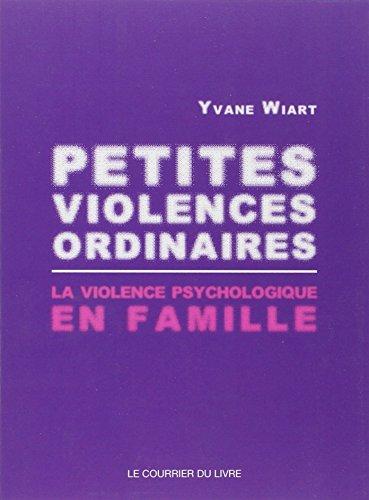 Petites violences ordinaires