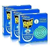 Raid Anti-Mückenspirale 10 Spiralen - Gegen Mücken und Tigermücken (3er Pack)
