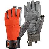 Black Diamond Crag Half-Finger Gloves, Octane, Large