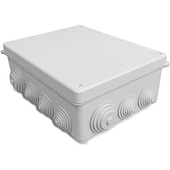 LEDKIA LIGHTING Caja Estanca 230x180x85 mm PCPC: Amazon.es: Bricolaje y herramientas