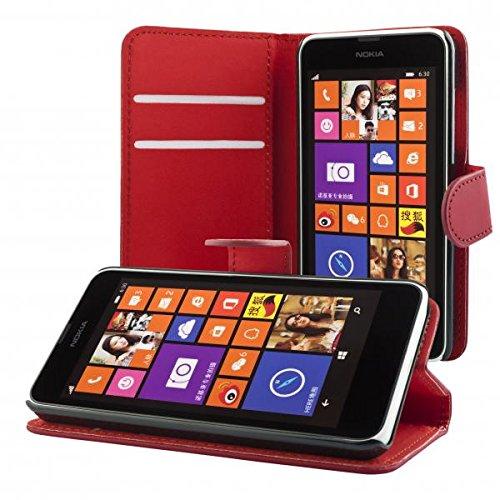 ECENCE Handyhülle Schutzhülle Case Cover kompatibel für Nokia Lumia 630/630 Dual SIM / 635 Handytasche 41020303