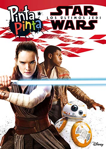 Star Wars. Los últimos Jedi. Pinta Pinta: Libro para colorear