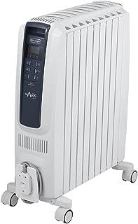 デロンギ オイルヒーター ドラゴンデジタル スマート X字型フィン9枚 【10~13畳用】 QSD0915-BL