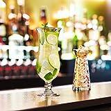 Arcoroc ARC 54584 Hurricane Cocktailglas, Cocktailschale, 440ml, Glas, transparent, 6 Stück - 5