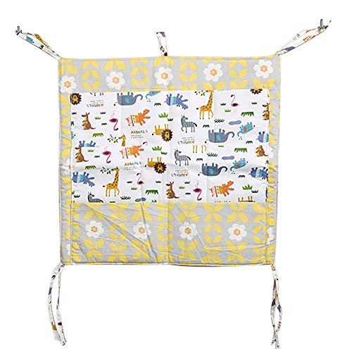 Honton Hanging Storage bags Cartoon Storage Bag Hanging Bag Organizer Door Wall Pocket Storage Bag, Yellow
