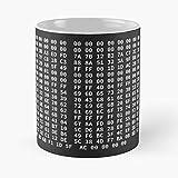 Bitcoin Genesis Block: The Times 03/Jan/2009 Chancellor on Brink of Second Bailout for Banks – La tazza Tient La Main 11 Oz, 15 oz in marmo bianco stampato in ceramica, design alla moda che Je Personn