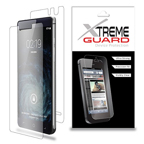 Premium XtremeGuard Full Body Screen Protector Front and Back for Elephone S2 Plus (Ultra Clear)