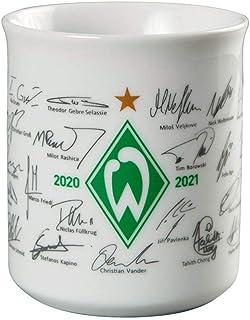 Werder Bremen SVW Unterschriften Tasse 20/21