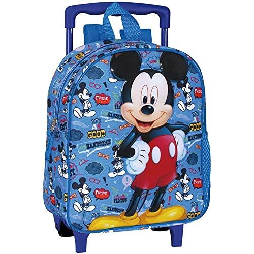 PERONA BAGS Mochila con ruedas de Mickey Mouse 'Famous'