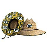 Green Bay Packers NFL Floral Straw Hat