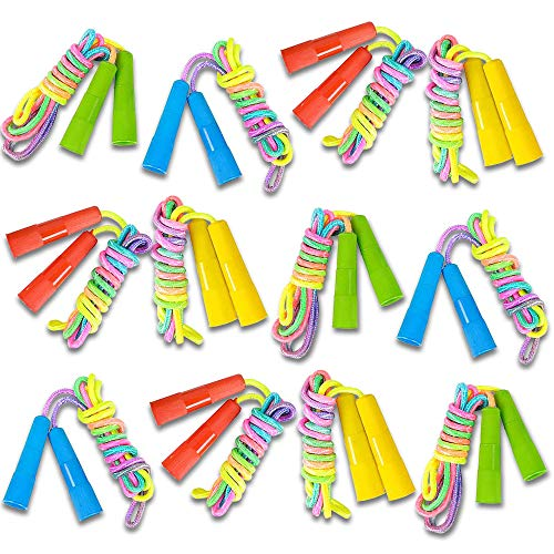 ArtCreativity 7.5ft Rainbow Jump Rope Set