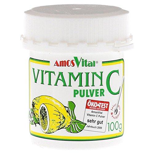 AmosVital Vitamin C Pulver, 100 g
