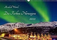 Die Farben Norwegens (Wandkalender 2022 DIN A3 quer): Faszinierende Bilder aus dem hohen Norden (Monatskalender, 14 Seiten )
