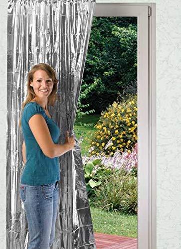 WENKO Isolier-Schutz Schutzvorhang Kälteschutz Hitzeschutz Refexionsschutz Sichtschutz
