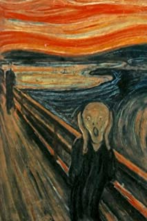 Edvard Munch - The Scream Journal: 160 Page Lined Journal/Notebook