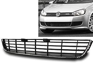 ZMAUTOPARTS VW Golf/ Jetta MK6 ABS Sportwagen Front Bumper Lower Grille Insert Black