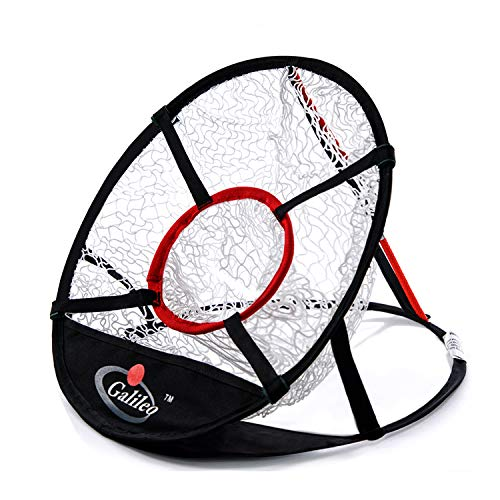 GALILEO Golf Chipping Net for Training Practice Driving 20x20inch Collapsible Portable Pop Up Net with Carry Bag(1Target)