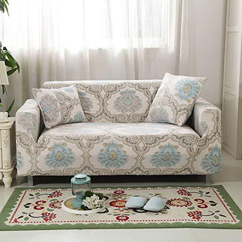 Funda elástica para sofá Funda elástica para sofá Sillones en Forma de L Funda seccional Sofá Toalla Funda para sofá Protector de Muebles A24 3 plazas