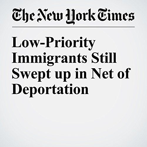 Low-Priority Immigrants Still Swept up in Net of Deportation cover art