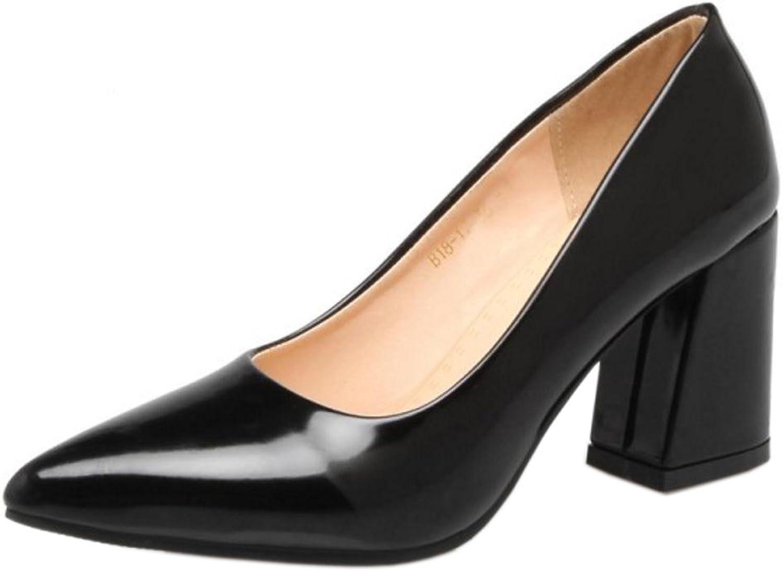 TAOFFEN Women's Office Court shoes Heels
