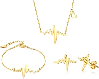 actual heartbeat necklace