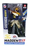 McFarlane Toys Ea Sports Madden NFL 17 Ultimate Team Series 2 Aaron Rodgers Green Bay Packers Throwback Action Figure