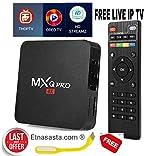 Rampotox® Android 7.0 MXQ PRO TV Box 1GB RAM/8GB ROM 64 Bit Quad