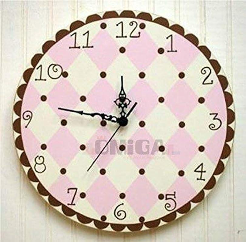 影響力のある悲惨な密輸多機能目覚まし時計牧歌的な子供部屋創造的な装飾漫画壁時計(電源なし)