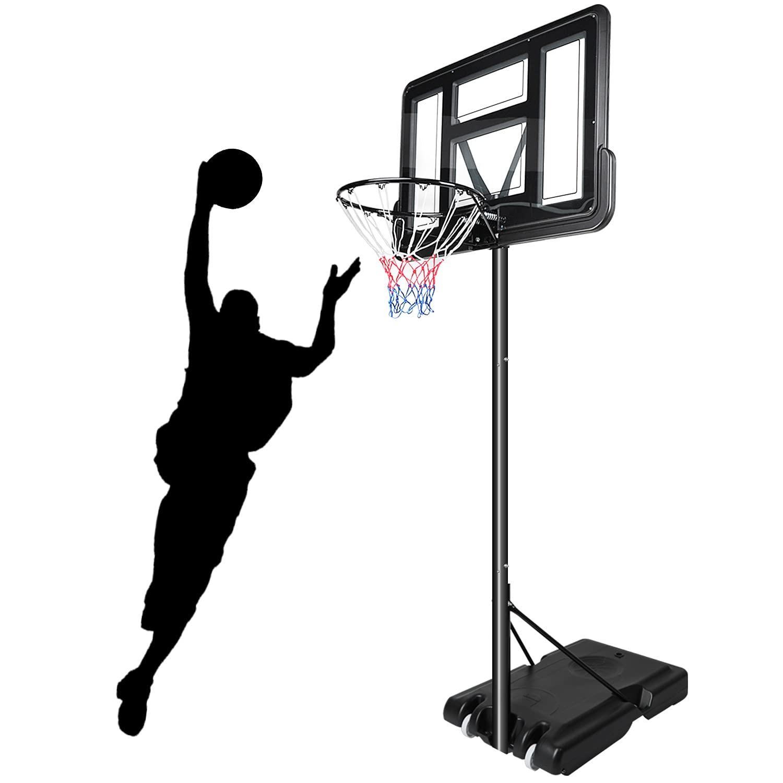 Pro 7ft Basketball Hoop Adjustable Height Stand Portable Backboard System Kid