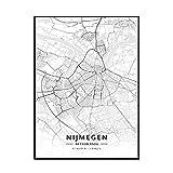 GUICAI Venlo Enschede Tilburg Deventer Niederlande Karte