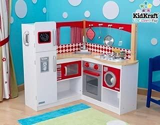 KidKraft New Wooden Red Corner Kitchen