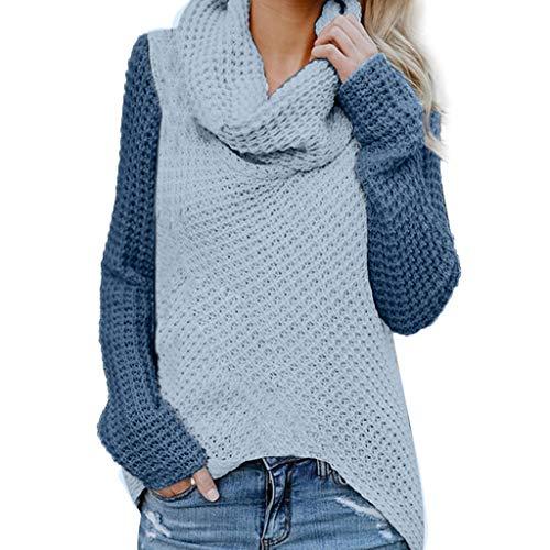 FRAUIT dames gebreide trui rolkraag patchwork pullover kleurblok pullover casual winter sweatshirt winter blouse strepen pullover S-5XL