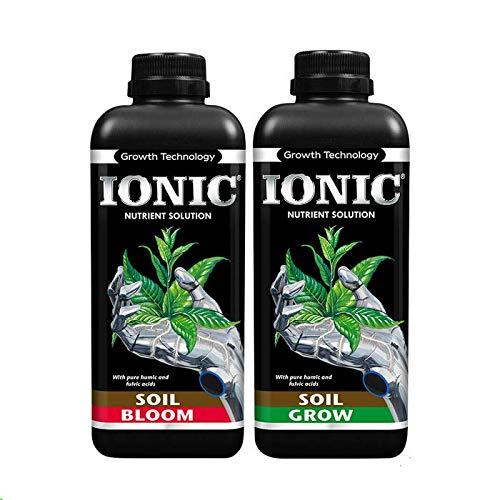Ionic Soil Nutrients - Grow/veg & Bloom/Flowering -1L,2L,5L,20L Hydroponics...