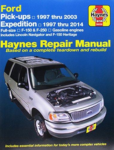 Ford Pickups & Expedition: Lincoln Navigator Automotive Repair Manual