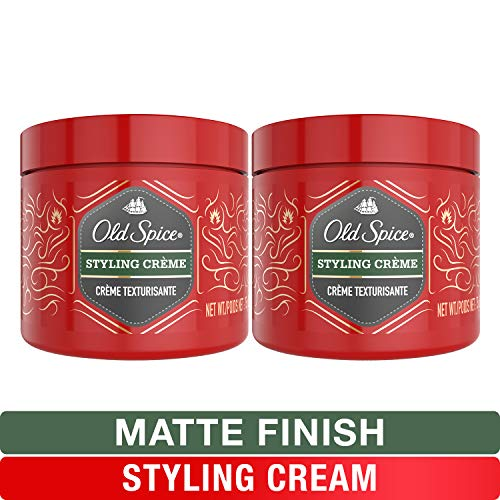 Old Spice, Styling Cream for Men, Medium Hold Hair Treatment, 2.64 oz, Twin Pack