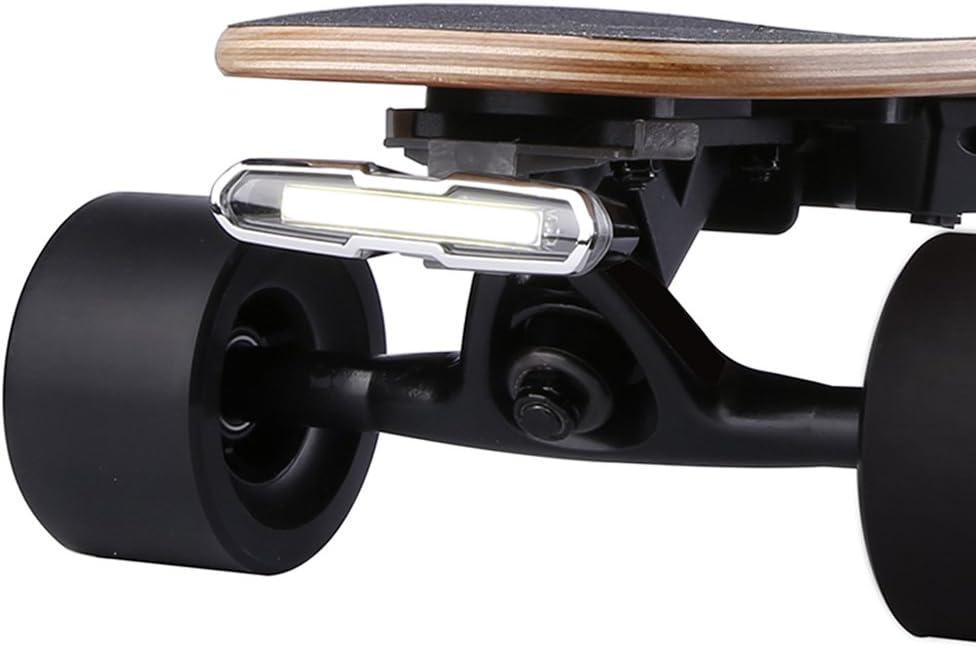 Oklahoma City Mall WONDERHOO Skateboard Headlights Ranking TOP10 or USB Taillights Rechargable -