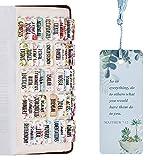 Laminated Bible Tabs, Bible Journaling Supplies,...