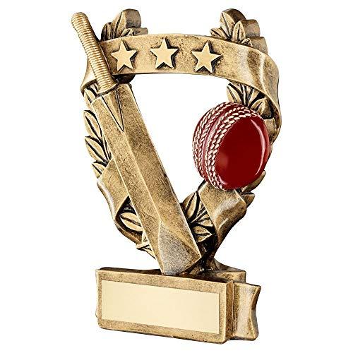 Lapal Dimension BRZ/Gold/Red Cricket 3 Star - Trofeo de Gala de Corona (15,9 cm)