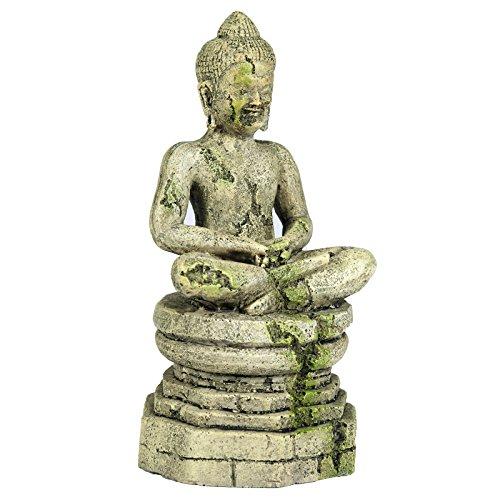 Pet Ting Adorno acuático de Buda - Decoración de Acuario - Decoración de Vivarium