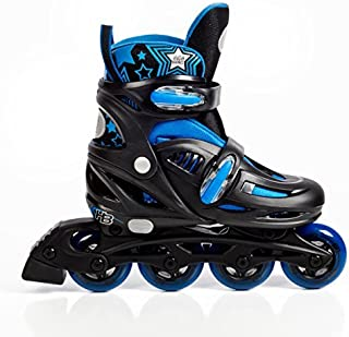 High Bounce Adjustable Inline Skates for Kids and Adults – Outdoor Roller Skates..